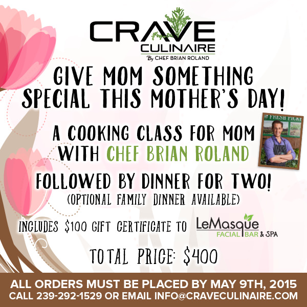 catering naples mothers day