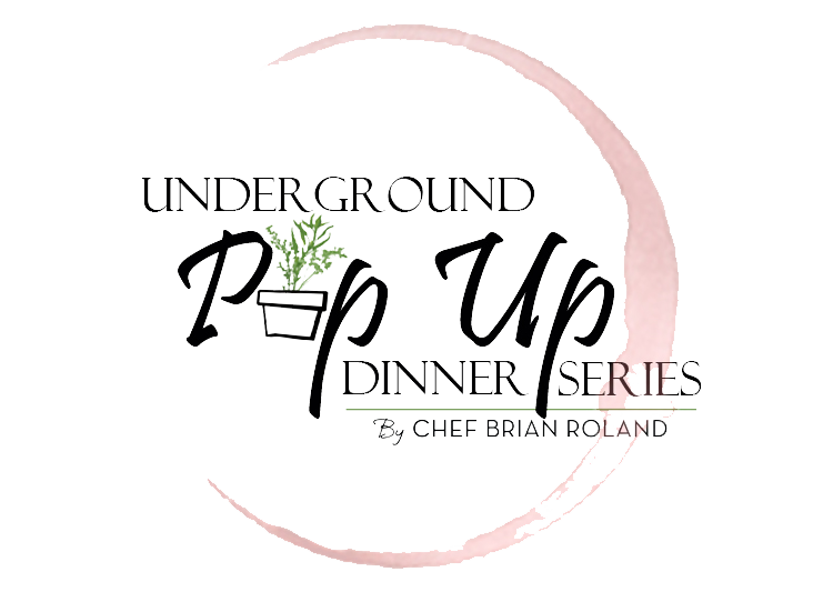 Pop Up Dinner Logo by Chef Brian Roland FINAL Transparent