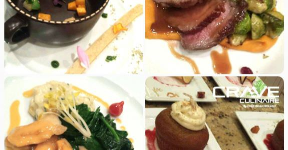 A fun holiday Charity Auction Dinner by Crave Culinaire
