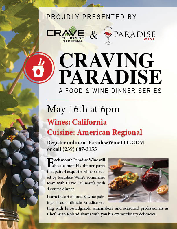 Craving Paradise Flier