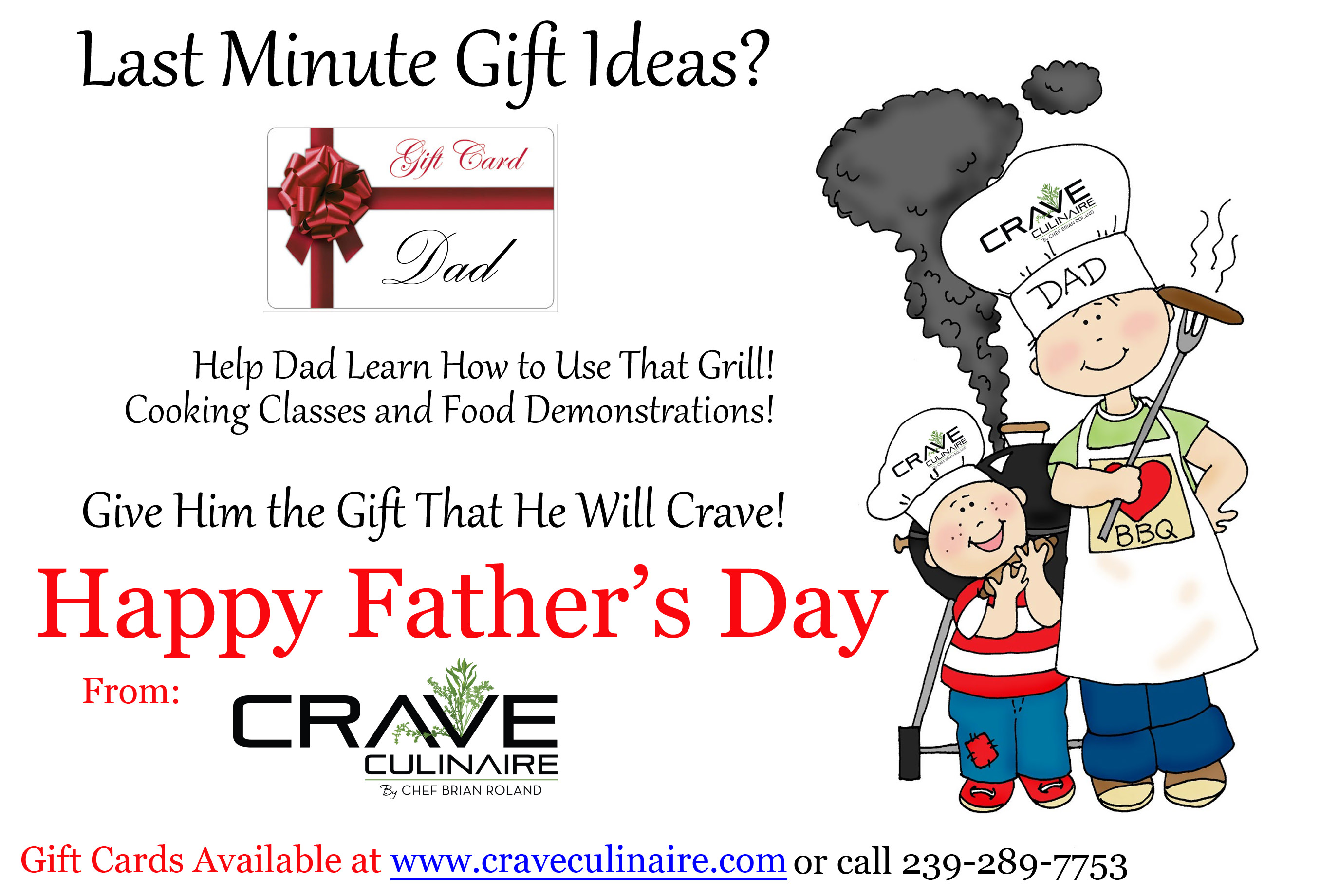 Father's Day Ad copy