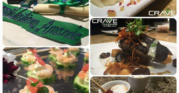 Catering service for a special graduation party
