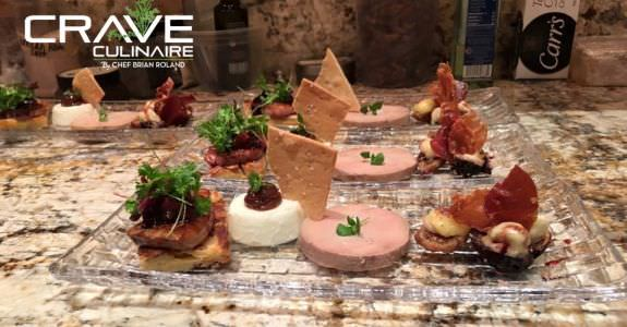 Foie Gras made by Crave Culinaire